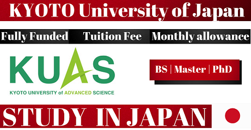 Fully Funded KUAS Scholarships Japan 2022/23 For All International Students