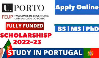 Study In Portugal | Portugal Fully Funded Scholarships 2022-23 | No IELTS/Fee