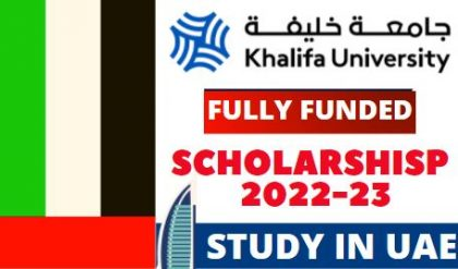 UAE Government Scholarships 2022-23 | For Master & PhD | Study In UAE