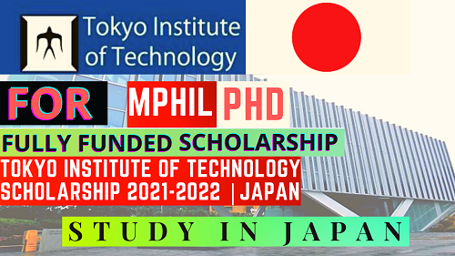 TOKYO SCHOLARSHIPS 2021-2022 FOR ALL INTERNATIONAL STUDENTS    FULLY FUNDED   Careers Help Line