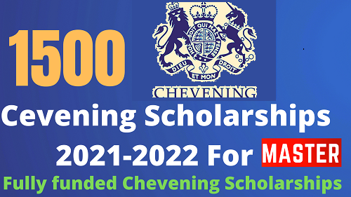 Study In UK | Chevening Scholarships 2021-2022 for International Students | FillyFunded | Careers Helpline