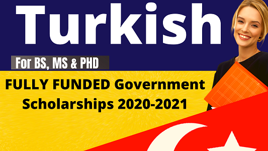 Turkish Governament Research Scholarships Fully Funded ...