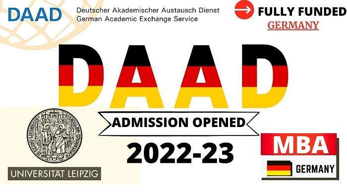 Fully Funded DAAD Scholarships 2022-23 || Leipzig University Germany || MBA Applicants