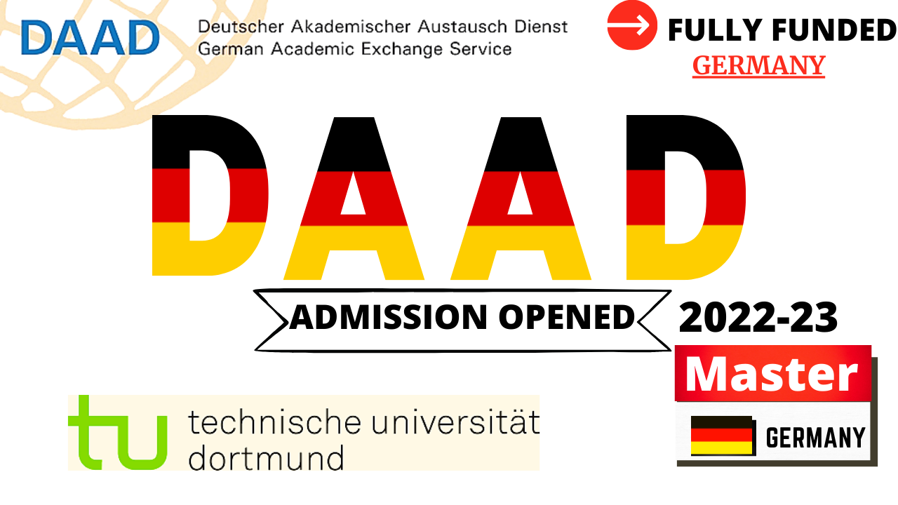 DAAD Fully Funded Scholarships at Technical University of Dortmund For All International Students