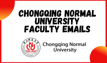 Chongqing Normal University Faculty Emails