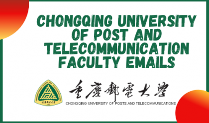 Chongqing University of Post and telecommunication Faculty Emails