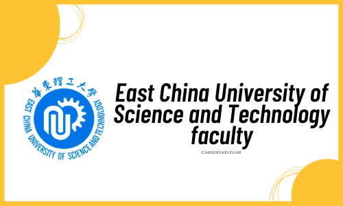 East China University of Science and Technology faculty