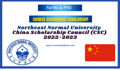 Northeast Normal University Chinese Government Scholarship 2022