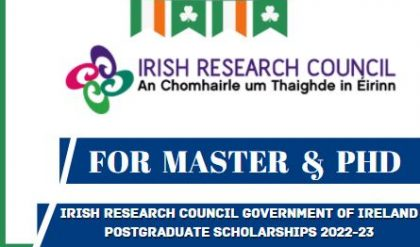 Ireland Government Scholarships 2022-23 | For Master & PhD | Study In Ireland